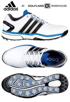 The adidas adipower BOA Boost golf shoe features plush comfort and a 2-year  waterproof 942208441