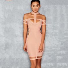 Josephine Bandage Bodycon Dress