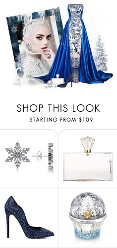 """Frozen Inspiration - Elsa"" by love-n-laughter ❤ liked on Polyvore featuring Disney, Allurez, Charlotte Olympia, Carvela, House of Sillage, La Preciosa, disney and frozen"