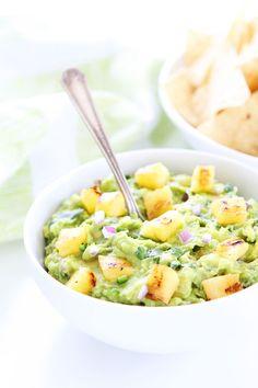 Grilled Pineapple Guacamole Recipe