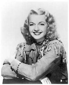 """Dale Evans (born Frances Octavia Smith on October 1912 – February was an American writer, movie star, and singer-songwriter. She was the wife of singing cowboy Roy Rogers and wrote the theme song """"Happy Trails"""". She died of heart failure. Golden Age Of Hollywood, Vintage Hollywood, Hollywood Stars, Hollywood Glamour, Dale Evans, Old Time Radio, Old Movie Stars, Star Wars, Thanks For The Memories"""