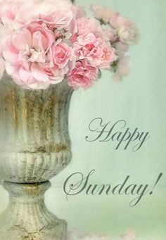 Happy Sunday! Gave a blessed day! ♥