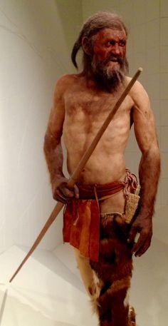 Ötzi - the Iceman in Bolzano / Bozen museum #inSouthTyrol Italy