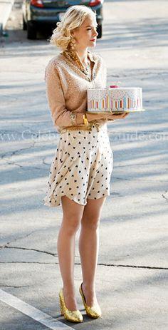 "Lemon Breeland (Jaime King) wore the Rebecca Taylor Ikat Heart Printed '40s Dress on Hart Of on Hart Of Dixie: Season 1 Episode ""Destiny & Denial"""