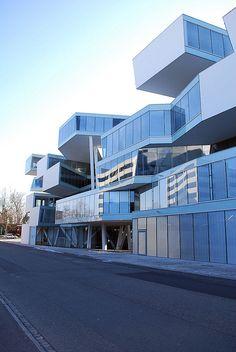 Actelion Business Center, Basel -  Herzog & de Meuron Architects