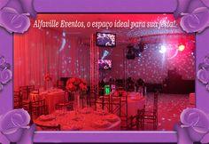 Faça sua Festa no Alfaville Eventos. Veja no Blog Novas Noivas:http://bit.ly/1Q9lWAW
