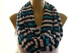 Infinity Scarf. Love these colors