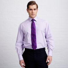 Lockyer Check Shirt - Double Cuff by Thomas Pink