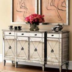 Love mirrored furniture