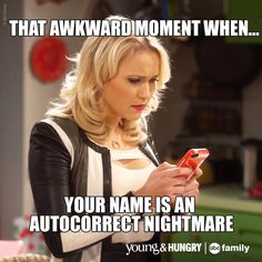 That is super awkward. | Young & Hungry