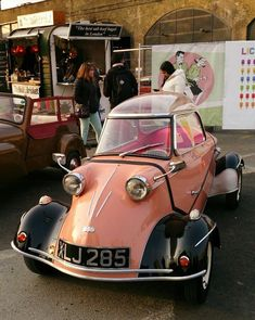 Classic Car News – Classic Car News Pics And Videos From Around The World Bmw Isetta, Fiat 126, Automobile, Old Vintage Cars, Microcar, Weird Cars, Cute Cars, Unique Cars, Small Cars