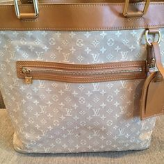 e32c2c6ac57 Spotted while shopping on Poshmark  LV Beige Momogram Mini Lin Lucille GM  TST Bag!