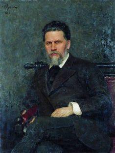 Ilya Repin - Ivan Kramskoy