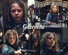 Gavroche - that first gif though....