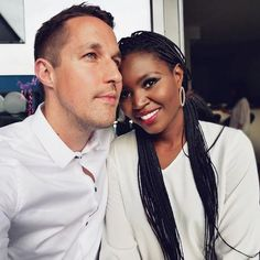 Simply beautiful interracial couple #love #wmbw #bwwm #swirl #biracial