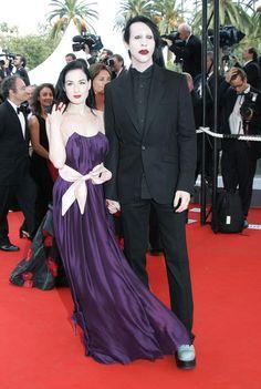 Dita Von Teese et Marilyn Manson en 2006