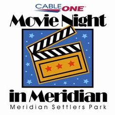 MOVIE NIGHT IN MERIDIAN    Every Friday in June, July, and August (some exceptions) we'll set up our huge inflatable movie screen in Meridian Settlers Park (Meridian Rd. & Ustick) and take in a family-friendly movie.  Here's the best part - IT'S FREE!  So bring your lawn chairs, blankets, and movie pals and enjoy a summer of fun with Meridian Parks and Recreation!  All movies start at dusk.