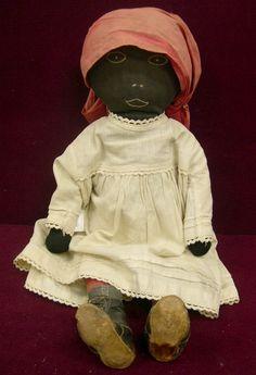 Afro American Cloth Folk art doll