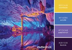 101 color combinations to inspire your next design – cobalt color palette Split Complementary Color Scheme, Scheme Color, Color Azul, Colour Schemes, Color Combos, Good Color Combinations, Couleur Hexadecimal, Rainy Day Images, Kaleidoscope Images