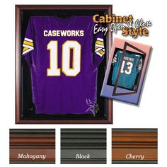 Minnesota Vikings NFL Standard Size Jersey Case (Cherry)
