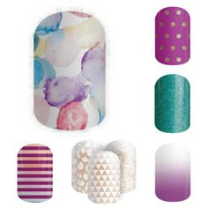 Love this color combo! Jamberry nails