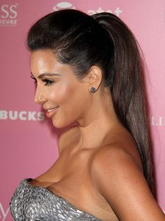 celebrity hair up high ponytail - Google Search