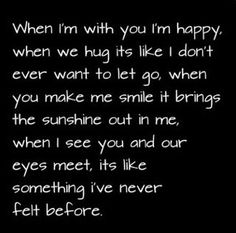 Unique & romantic love quotes for him from her, straight from the heart. Love Quotes for Him for long distance relations or when close, with images. Cute Love Quotes For Him, Romantic Love Quotes, Love Yourself Quotes, You Make Me Smile Quotes, Romantic Memes For Him, I Love You Quotes For Him Boyfriend, Romantic Quotes For Girlfriend, Love Songs For Him, You Make Me Happy