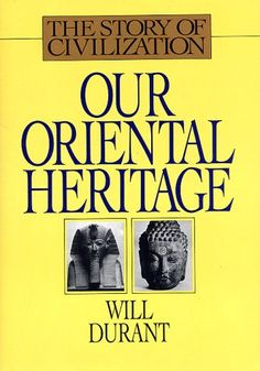 Our Oriental Heritage: The Story of Civilization, Volume I, by Will Durant. $6.38. Suggested MCAT CARS reading by The Princeton Review.