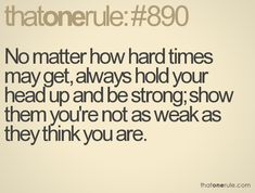 #thatonerule Hard Times #quotes