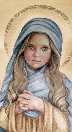 QUERIDA NIÑA MARÍA, SIERVA DE DIOS, MADRE DEL SALVADOR, TE ENCOMENDAMOS A TODOS LOS NIÑOS Y JÓVENES DEL MUNDO