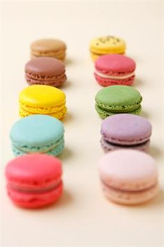 A tutibiztos macaron recept Mini Desserts, Delicious Desserts, Dessert Recipes, Yummy Food, Macarons, French Macaroons, Sweets Cake, Something Sweet, Love Is Sweet