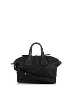 Nightingale mini black leather bag by Givenchy on secretsales.com