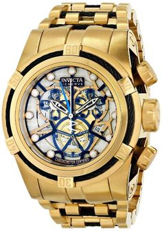 Gold watches for men Invicta Invicta Men's 13759 Subaqua Analog Display Swiss Quartz Gold Watch