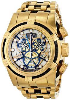 Gold watches for men Invicta Invicta Men's 13759 Subaqua Analog Display Swiss Quartz Gold Watch