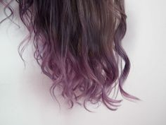 I Gave Myself Subtle Purple Ombré Hair Because I'm A Grown Woman And I Do What I Want - xoVain