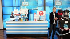Ellen ctv canada xmas giveaway items