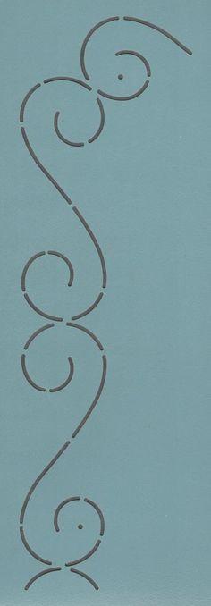 """S Border 1.5"""" - The Stencil Company"""