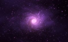 Purple in space