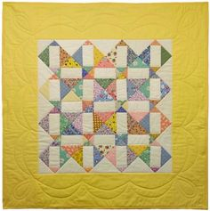 Signature quilt for baby