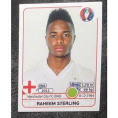 Football Soccer Sticker Panini UEFA Euro 2016 #144 England