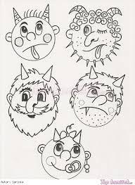 Výsledek obrázku pro obrázky kreslené - čertíci Fun Experiments For Kids, Black Art Tattoo, Diy And Crafts, Crafts For Kids, Halloween Worksheets, 3d Christmas, Valentines Day Gifts For Him, Stuffed Animal Patterns, Winter Time