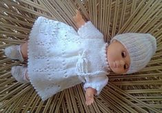 Baby Annabell Lace dress pattern by linda Mary in 2020 ...