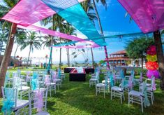 Gorgeous Beach Wedding With A Fabulous Bollywood Night & The Most Fun Function Decor Themes! - Witty Vows Photography And Videography, Event Photography, Intimate Weddings, Real Weddings, Indian Beach Wedding, Wedding Planning, Wedding Ideas, Mehendi, Vows