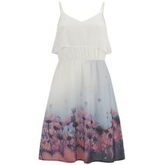 Vero Moda Women's Daisy Floral Dress - Tropical Peach