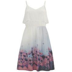 Vero Moda Women's Daisy Floral Dress - Tropical Peach