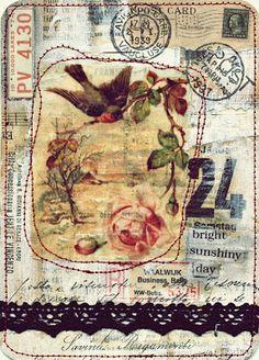 Viola: more collage cards