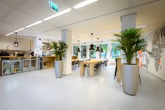 Amsterdam Internet Exchanges Headquarters_New Purpose designed the AMS-IX offices in the former building of Hyves HQ, which was also has designed and realized by the New Purpose design team (in 2009).