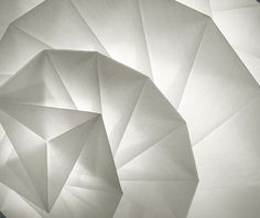 'IN-EI' lighting collection by Issey Miyake for Artemide