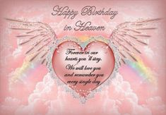 Special Happy Birthday Wishes, Birthday In Heaven Quotes, Happy Heavenly Birthday, Happy Birthday Wishes Cards, Birthday Messages, Birthday Quotes, Happy Birthday Biker, Birthday Love, Friend Birthday