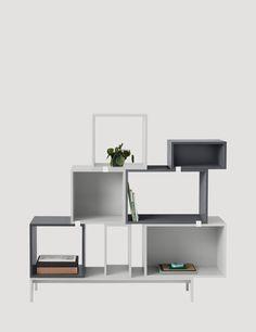 STACKED - Modern Scandinavian Design Module Storage by Muuto - Muuto